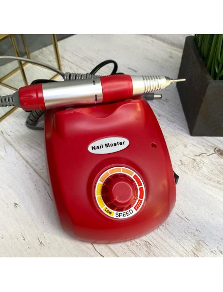 Аппарат для маникюра и педикюра Nail Master (30тыс.об), красный