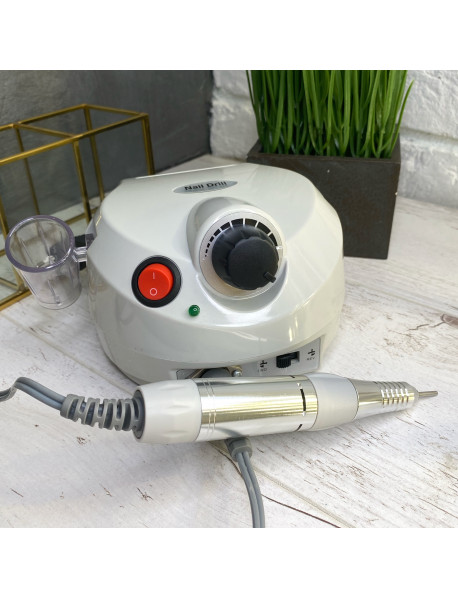 Аппарат для маникюра и педикюра Nail Drill (30тыс.об), серый