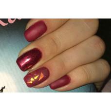 Дизайн ногтей гель-лаком: фольга на ногтях