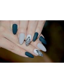 Гель-лак. Дизайн ногтей гель-лаком: абстракция на ногтях