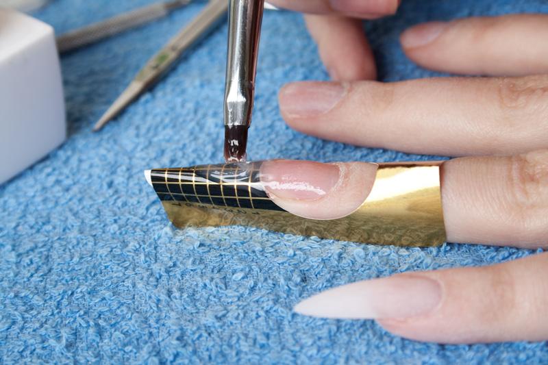 Как сделать форму для наращивания ногтей в домашних условиях